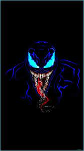 Venom In Dark IPhone Wallpaper (With ...