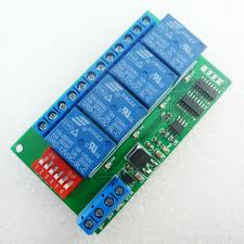 aliexpress com buy 4 channel dc 12v rs485 relay module modbus 4 channel dc 12v rs485 relay module modbus rtu at command remote control switch for