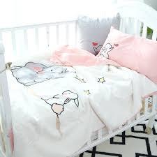 childrens duvet covers asda cotton baby bedding set elephantrabbit duvet cover pink bed sheet pillowcasegirl boy