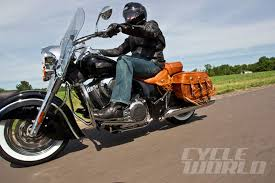 2014 Indian <b>Chief Vintage</b> and <b>Chieftain</b> Bagger- First Ride Review ...