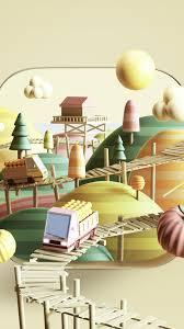 bk28-art-illust-3d-cute-town