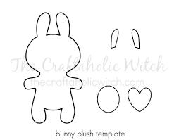 Free Bunny Pattern Template Amazing Design