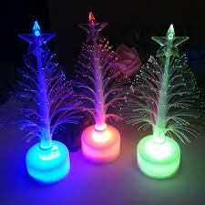 Christmas Tree With Changing Lights Us 0 7 25 Off Night Light Christmas Xmas Tree Color Changing Led Light Lamp Home Decoration Bedroom Suspension Luminaire Lamparas In Night Lights