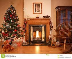 Xmas Living Room Christmas Living Room Stock Image Image 15903661