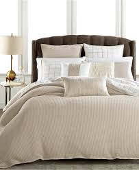 bedding hotel collection waffle weave bedding collection subtle and intricate pattern everett 8 pieces cotton