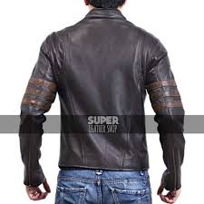 x men origins wolverine leather jacket 2