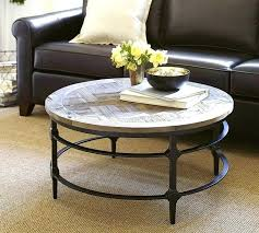pottery barn wood coffee table round reclaimed wood coffee tables parquet round coffee table at pottery pottery barn wood coffee table