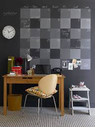 Diy Chalkboard Paint Calendar. Accessories: Black Office With Diy Wall  Calendar - Wall Calendar