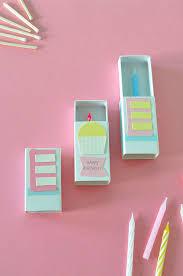 Diy Kids Birthday Card Matchbox Birthday Card