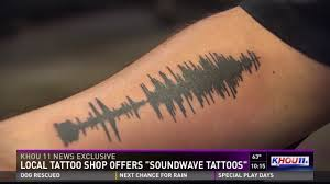 Local Tattoo Shop Offers Soundwave Tattoos