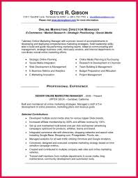 Social Media Manager Resume Sample E Commerce Social Media