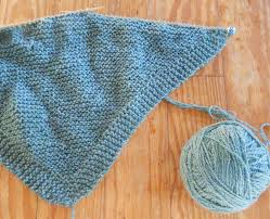 Knitted Shawl Patterns Magnificent Natural Earth Farm A Simple Knit Shawl Pattern
