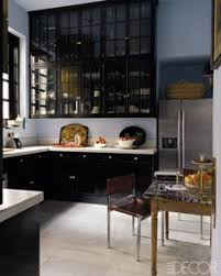 Scintillating Black Lacquer Kitchen Cabinets Photos - Best idea .