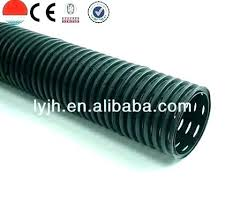 perforated drainage pipe 4 inch corrugated drain with low 6 sock 8