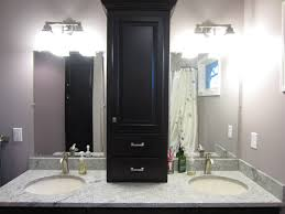 Bathroom Cabinet Tower Bath Suite With 25 In Vanity With Vanity Top St Paul Bathroom