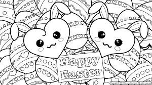 Copy Coloring Pages Easter Eggs Lancetcard Com