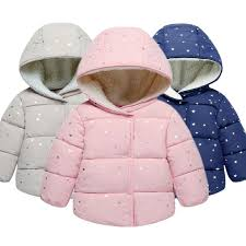 baby girls coat winter jacket fashion warm previous next