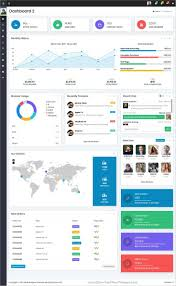 Html5 Dashboard Design Bonito Is Clean And Modern Design Responsive Html5 Template