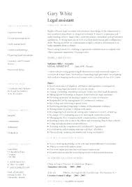 Objective For Legal Assistant Resume Legal Assistant Resume Senior Legal Administrative Assistant 94