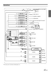 alpine cda 105 remote 200 watt am fm mp3 ipod receiver alpine cda 9883 digital aux at Alpine Cda 9883 Wiring Diagram
