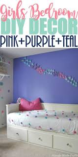purple and blue bedroom. update a girl\u0027s bedroom with this girls decor purple, pink, and purple blue