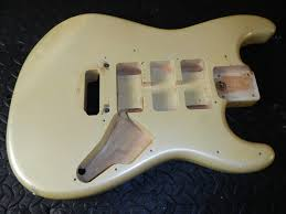 1985 fender contemporary stratocaster body mij metallic 1985 fender contemporary stratocaster body mij metallic pearl ivory