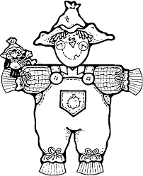 Small Picture Scarecrow Color Pages 17056 Bestofcoloringcom