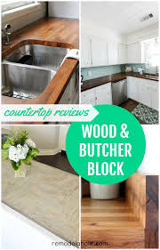 Ikea Wood Countertop Review Remodelaholic Diy Butcher Block Wood Countertop Reviews