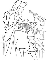 Small Picture Sleeping Beauty Princess Coloring Coloring Pages