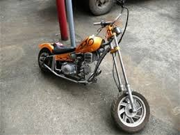 mini chopper motorcycle not street legal 50cc loncin motor