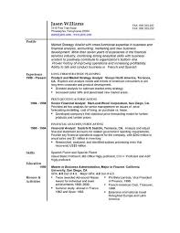 Sample Resume Formats For Experienced Extraordinary Sample Resume 48 FREE Sample Resumes By EasyJob Sample Resume