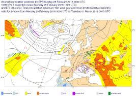 Ecmwf Forecast Charts Application Of The Ecmwf Models Activity Met Hu