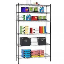 6 tier wire shelving unit nsf metal shelf rack 1500 lbs capacity 16 x42