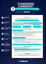 Sample Career Change Resume Changing Careers 7 Details To Include On Your Resume Topresume