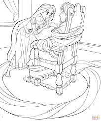 Coloring Book Rapunzel Pages 08 Pinterest 768x1161 2