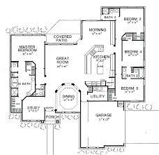 4 bedroom open concept floor plans best open floor plan home designs 2 bedroom open concept