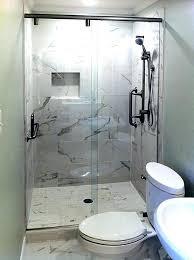 shower door off track showers sliding glass doors for showers remarkable shower and of