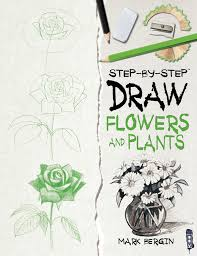 draw flowers and plants apple books