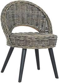 vidaXL <b>Sofa Chair Kubu</b> Rattan Black Armchairs Bedroom Seats ...
