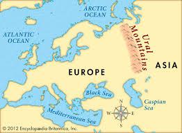ural mountains on world map  scrapsofmeme