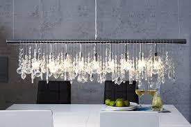 Lampe Kristall Moderne Esstisch Pendelleuchte E14 Srthqd
