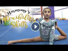 gymnastics flexibility skills harmony sgg gymnastics flexibility gymnastics skills gymnastics videos