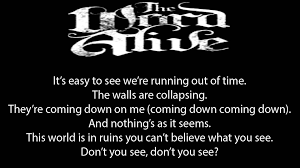 The Word Alive Dream Catcher The Word Alive Dream Catcher lyrics YouTube 3