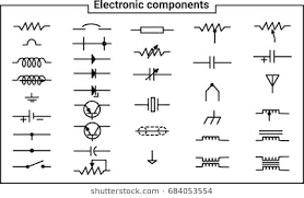 electrical symbols images, stock photos & vectors (10% off electrical symbols pictures at Electrical Symbols