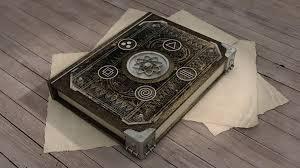 old magic book 3d model