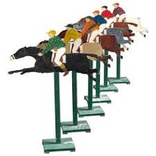 Wooden Horse Race Game Pattern racing horse silhouette client derby de mayo Pinterest 14