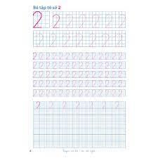 Sách - Hành trang cho bé vào lớp 1 – Vở bé luyện viết chữ số