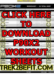 workout sheets p90x2 workout sheets free pdf download here