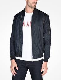 armani exchange lightweight nylon er jacket jacket for men a x