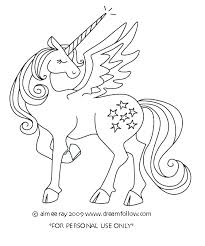 Unicorn Birthday Coloring Pages Free Printable Unicorn Coloring
